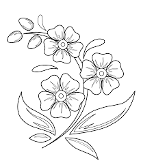 flowers drawing for kids free download clip art free clip art