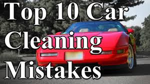 Professional Car Interior Cleaning Near Me Top 10 Car Cleaning Mistakes Youtube