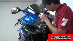 suzuki gsxr windscreen installation guide from hotbodies racing