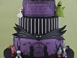 nightmare before christmas wedding decorations nightmare before christmas wedding cake cakecentral