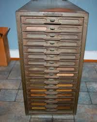 Vintage Metal File Cabinet Vintage Industrial Remington Rand Kardex Metal File Cabinet 16