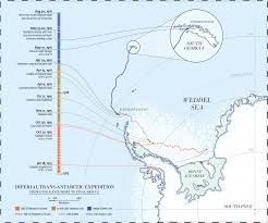 Maps Timeline File Imperial Trans Antarctic Expedition Map And Timeline Svg