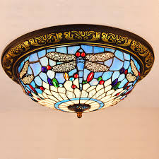 Stained Glass Ceiling Light Stained Glass Ceiling Light Home Fabrizio Design Innovative