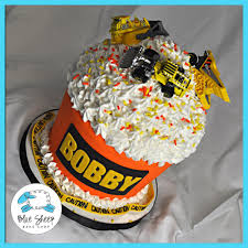 bobby u0027s construction themed giant cupcake birthday cake