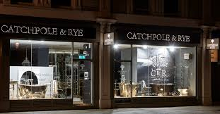 the new industrial inspired window display at the catchpole