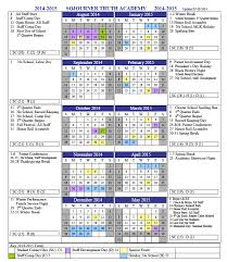 2014 2015 school calendar sojourner academy