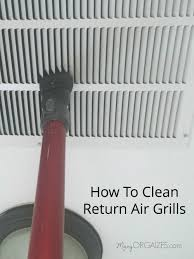how to clean how to clean the return air grill creatingmaryshome com