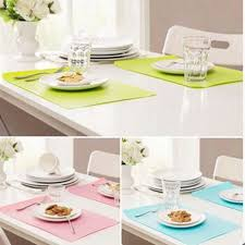 napperon de cuisine vaisselle napperon étanche napperons chaleur isolé tables à manger