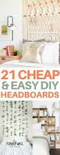 best 25 cheap bedroom decor ideas on pinterest cheap bedroom 21 unique diy headboard ideas to transform your bedroom