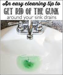 how to clean sink drain how to clean the gunk around the sink drain ask anna