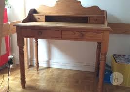 donne bureau donne bureau en bois massif style romantique à île