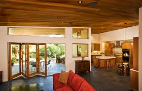 Folding Doors Patio Folding Patio Doors Family Room Contemporary With Ceiling Lighting