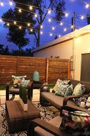 Backyard Light Pole by Backyard String Lights Ideas Home Ideas