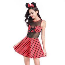 Halloween Costume Polka Dot Dress Cheap Mouse Halloween Costumes Aliexpress
