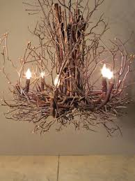 Twig Light Fixtures Twig Chandelier So Pretty Projects To Do Pinterest