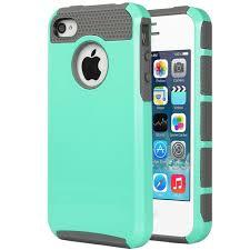 light blue gray amazon com iphone 4s case iphone 4 case 4s case ulak dual layer