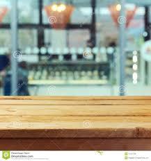 Wooden Table Background Vector Wooden Table Mock Up Template Background For Product Montage