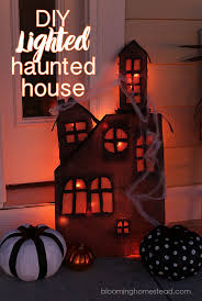 Haunted House Decorations Lighted Haunted House Decoration House Interior
