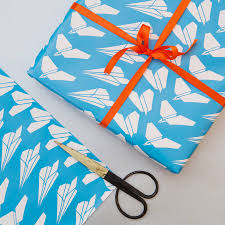 sports wrapping paper personalised sports courts print by so notonthehighstreet