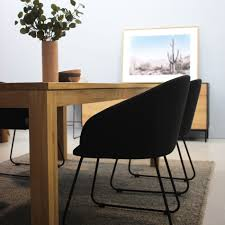Dining Tables Canberra Oak Straight Dining Table