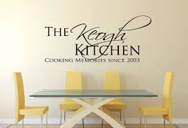 designer wall decals stickers amazing quality unique designs personalised kitchen cooking memories wall decal sticker