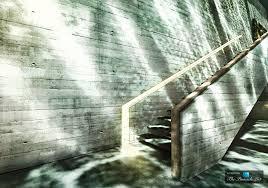 staircase u2013 luxury home wedged cliffside sunken clifftop the