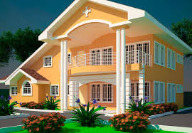 5 Bedroom House Designs House Plans Offei 5 Bedroom House Plan In Delivery