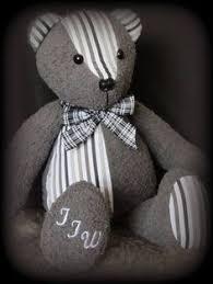 remembrance teddy bears memory custom teddy angel keepsake personalized