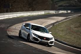 honda civic 2017 type r top 10 cars the 2017 honda civic type r beats on the nurburgring
