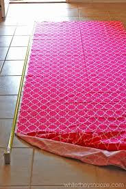 How To Make Grommet Top Curtains While They Snooze How To Make Grommet Top Curtains