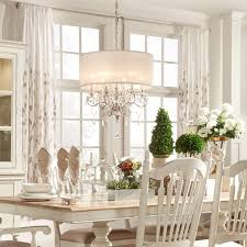 Chandeliers With Shades And Crystals by Tribecca Home Silver Mist Hanging Crystal Drum Shade Chandelier