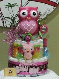 my first owl bank baby diaper cake stylish u0026 modern great
