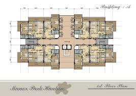 per building modern apartment plans design decoration ideas