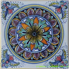 hand painted italian ceramic tiles italian ceramics pinterest