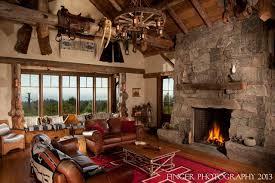 log cabin living room design decorating a log cabin on a budget