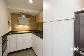 modern kitchen features seville apartment escoberos street seville spain escoberos