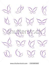 simple butterfly tattoos simple