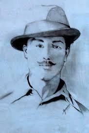 great bhagat singh pencil sketch desipainters com