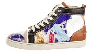 this christian louboutin louis flat is made out of trash really