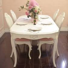 Shabby Chic White Dining Table by Chateau Shabby Chic White Painted Oval Extending Dining Table