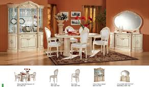 Ivory Dining Room Chairs Rossella Comp1 Dining Room Set In Ivory Free Shipping Get