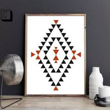 shop tribal print posters on wanelo