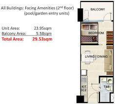 the shore floor plan shore residences by smdc