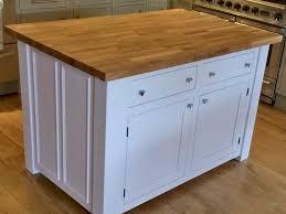solid wood kitchen islands solid oak kitchen island