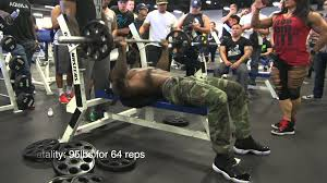 Mike O Hearn Bench Press Beast Motivation U2013 Ct Fletcher Mike Rashid Overtraining Chest
