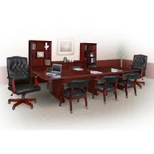 Modular Conference Table Prestige Mahogany 96 In Rectangular Conference Table Tvctrc9648mh