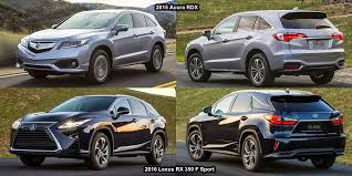 lexus rx 350 vs acura rdx 2016 2018 2019 car release and reviews