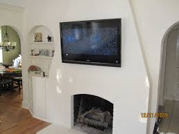portland ct mount tv above fireplace home theater installation