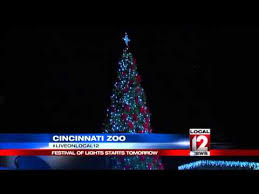 henry vilas zoo christmas lights festival of lights starts on saturday at cincinnati zoo youtube