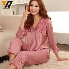 aliexpress buy xmweiping silk pyjamas set